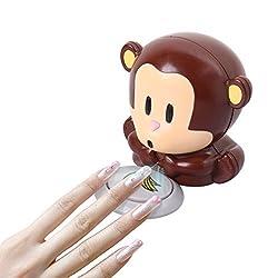 Elite99 Cute Monkey Shaped Manicure Nail Polish Blower Dryer For UV Gel Nail Polish