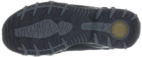Allrounder by Mephisto NIMBO P2002535, Sneaker donna Nero (Schwarz (BLACK C.SUEDE 1/ SAPPHIRE 1))