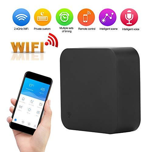 Smart WiFi IR Remote Controller, Infrared Air Conditioner Fan Control  remoto en el hogar con Alexa Google Home Voice Control Soporte IOS y Android