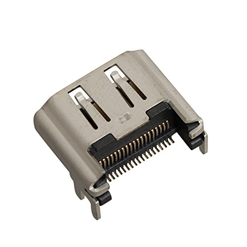 eJiasu porta HDMI Socket Connettore interfaccia Parte di riparazione di ricambio per PS4 Playstation 4 (Jack Socket Pin)