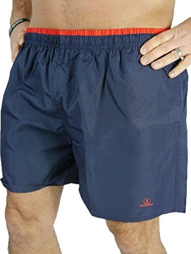 MAWASHI Herren Badeshorts Schwimmhose Badehose Shorts MW2025Q Navy