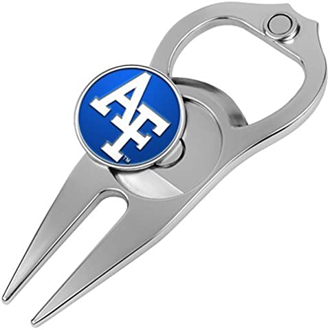 Hat Trick Openers 5-in-1 Divot Tool, Air Force Falcons by Hat Trick Openers