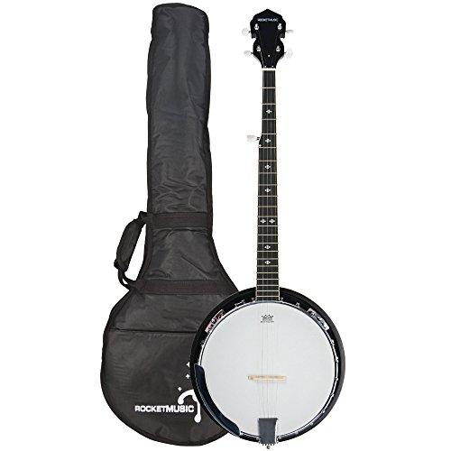 Rocket BJW01 Deluxe Banjo mit 5Saiten