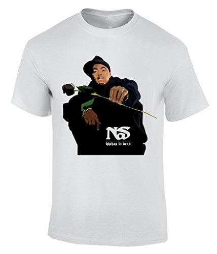 Nas - Medium T-Shirt Herren - Abt Tee