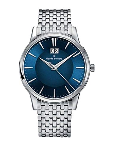 Edox sofisticato Classics orologio da uomo 63003.3m. Buin Claude Bernard...