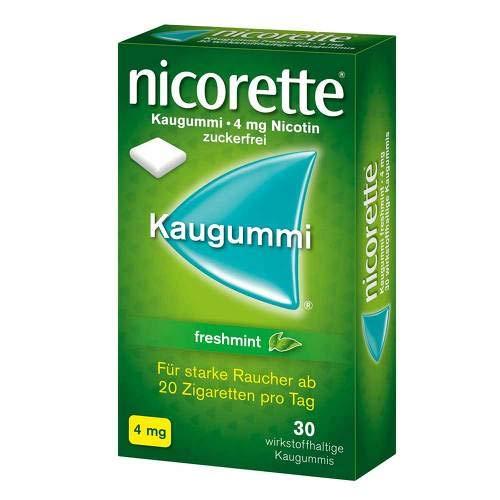 Nicorette 4mg freshmint 30 stk