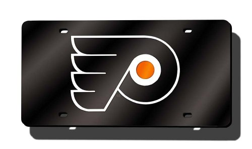 Rico NHL Anaheim Enten Laser Cut Auto Tag, Philadelphia Flyers Anaheim Laser