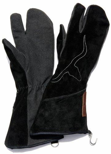 Premium-Grillhandschuh »GRILL-PROTECTOR«, KEVLAR©, Leder, Größe S
