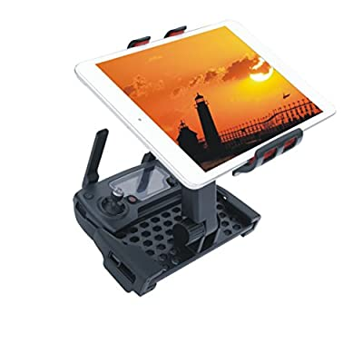 Crazepony-UK 4-12 Inch Monitor Holder Extension Adjustable Tablet Bracket Phone Mount for DJI Mavic Pro Remote