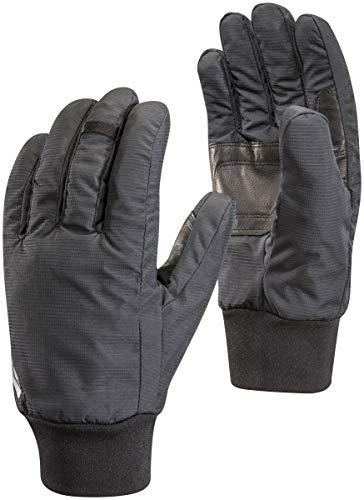 Black Diamond Lightweight Waterproof Handschuhe für Outdoor-Aktivitäten / Robuste, warme Fingerhandschuhe zum Wandern oder Bergsteigen / Unisex, Black, Größe: S