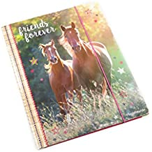 Horse Friends - Carpeta A4 con elásticos, ...