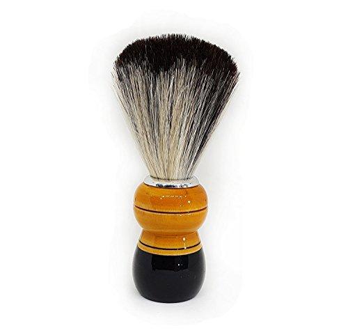 Baal Beard Shaving Brush For Men And Boys Special Soft And Luxurious Shaving Brush For Men Beard Shaving Brush, 20 Gram, Brown, Pack of 1