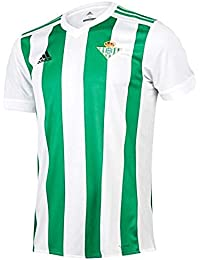 adidas H JSY Camiseta 1ª Equipación Betis 2017-2018, Hombre, Blanco/Verde