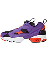 Reebok Instapump Fury Og Violet Orange SPecial Black Edition Retro Sneaker Pump with System