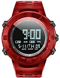 Amazon.es: reloj digital Rojo Hombre: Relojes