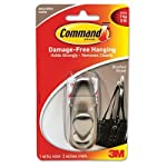 MMMFC12BN - Command Communications, Inc Adhesive Mount Metal Hook by Command