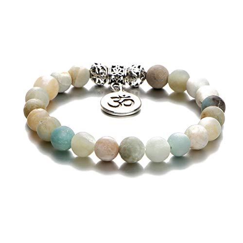 Fornateu Las Mujeres de Boho Natural Piedra Redonda Perlas Tobillera Muchachas de la Playa Pulsera de Cadena del pie de la joyería