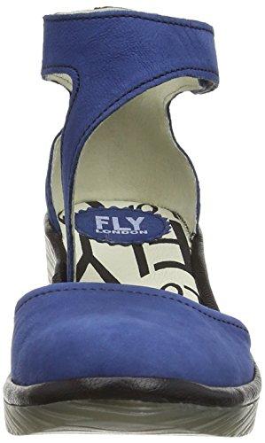 Fly London Piat,femme Bleu - Blue (Blue/Black)
