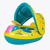 StillCool Schwimmring Baby Kinder kleinkind Schwimmring Schwimmhilfe Schwimmflügel aufblasbare schwimmgürtel Schwimmen Ring mit Canopy Sitz für das Alter von 4-18 Monaten Kleinkind