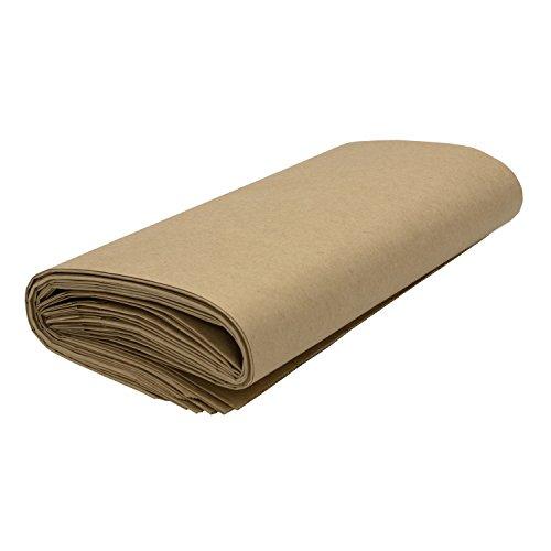 VARIOSAN Bio Kompostbeutel 11954, 10 L, 60 Stück, Kraftpapier, braun