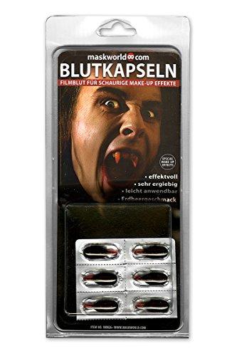 Blutkapseln Filmblut Blut Theaterblut Kapseln zum Aufbeissen Halloween