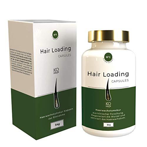Pflanzliches Haarausfallmittel gegen Haarverlust aus klinischer Forschung - hochdosierte Wirkstoffe gegen Haarausfall, unkomplizierte Einnahme ohne Nebenwirkungen - von KÖ-HAIR Klinik