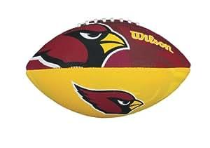 Wilson Football mit dem Logo des NFL Junior Teams, WTF1534IDAZ, Arizona Cardinals, Für Kinder