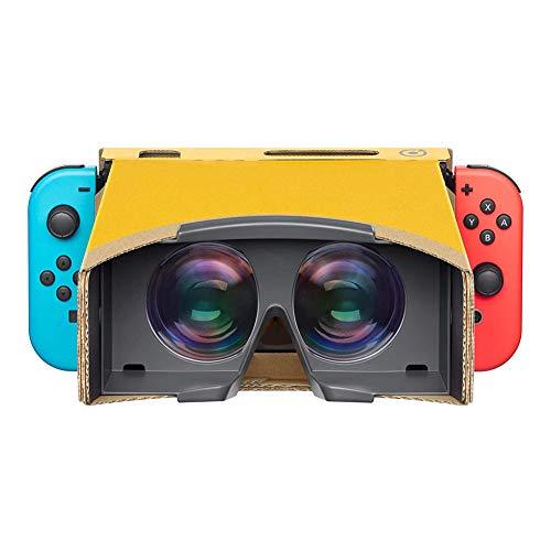 WZHESS Cartone VR Occhiali da Vista, Visione di HD Nintendo, Facile da installare Interruttore Occhiali 3D, mestiere Handmade della Carta Kraft NS Creativo Occhiali LABO Cartone Occhiali