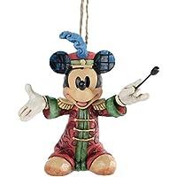 Disney Tradition A25902 Topolino Sospensione Resina, Design di Jim Shore, 10 cm