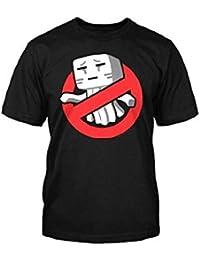 "Minecraft Ghastbusters T-Shirt (M (40"" Chest))"