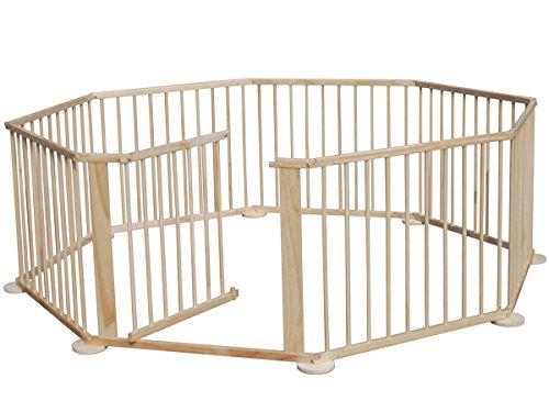 72-m-xxl-bambino-box-flessibile-cancelleto-di-sicurezza-incl-porta-e-supporto-a-parete-con-8-element