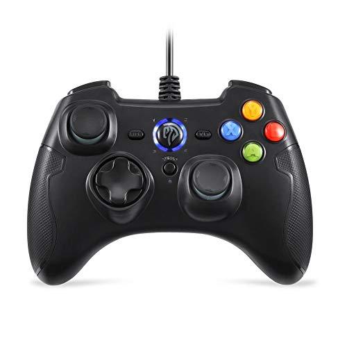 S-tubit Gamepad ESM-9100 Kabelgebundenes Gamepad Joystick USB Dual Shock 2 Meter Kabel geeignet für Windows/Android/PS3/ TV Box 9100 Usb