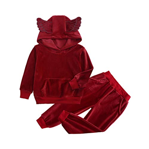 Hibote Herbst Winter Kostüm Kinder Kleidung Kleinkind Mädchen Sport Anzug Trainingsanzug Für Mädchen Kleidung Sets Jungen Outfits Anzug Kinder Kleidung (Sport Kostüm Kleinkind)
