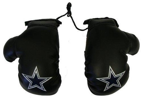 Fremont sterben NFL Dallas Cowboys Mini Boxhandschuhe, unisex, 97303, weiß, 10,16 cm (Dallas Boxer)