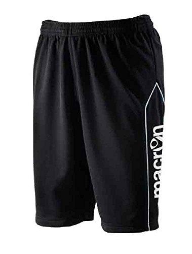 CHEMAGLIETTE! Calzoncini Corti da Allenament Uomo Pantaloncini Corti Macron Mekong Bermuda, Colore: Nero, Taglia: XL
