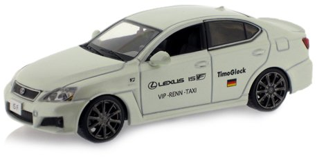 j-collection-jc095-vehicule-miniature-lexus-is-f-nurburing-taxi-timo-glock-echelle-143
