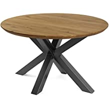 Amazon.es: mesa comedor redondas patas madera