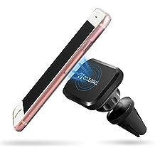 Coolreall Soporte Magnético de Movíl Coche Universal para iPhone 7/6s Plus/5/5S, Samsung Galaxy S6/S5/S4/ Note 4/3 Google Nexus, Xiaomi, GPS, Negro