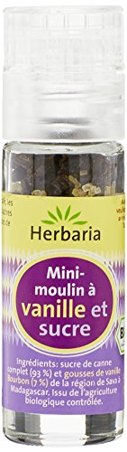 Herbaria - France Mini-Moulin Vanille Bio Sucre - 18 g