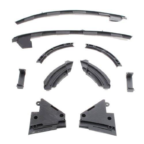 Baumatic, Ofen, Herd Vent Kapuze, Seitlich Verschiebbare Platte Extractor Fix Kit (Vent Herd Kit)