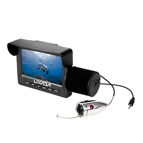 Lixada Fish Finder Caméra 1000TVL 4.3in...