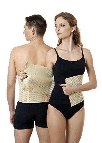 ®BeFit24 Medizinisches Premium Bauchweggürtel - Elastischer post op Gürtel und postnatal Bauchgurt - Bauchband nach Kaiserschnitt-Geburt - Abdominal Postpartum Bandage (In Einem Hund Kostüm Fußball)