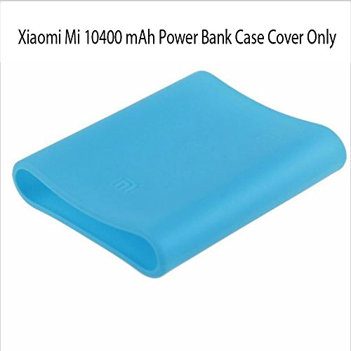 Heartly Soft Silicone Protector Case Cover for Xiaomi Mi 10400 mAh Power Bank ( Powerbank Not Included ) - Power Blue  available at amazon for Rs.249