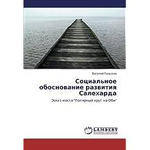 """Sotsial'noe obosnovanie razvitiya Salekharda: Eskiz mosta """"Polyarnyy krug na Obi"""""""