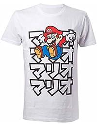 Nintendo Japanese Mario, Camiseta para Hombre