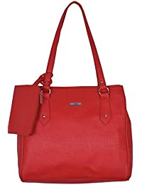 Suman International PU Leather Casual Handbag Shoulder Bag With Sling Belt Women & Girl's Office Bag With Small...