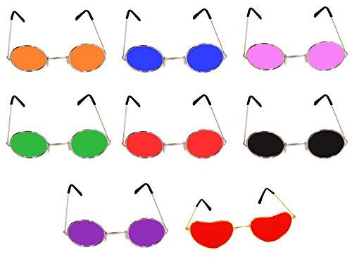 Circular Hippy Glasses