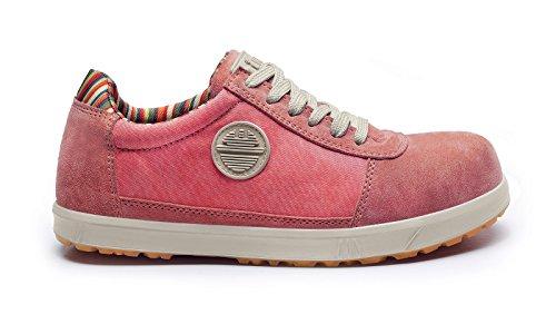 Dike Lady d Levity S1P Chaussures de Sécurité, corail, 25616.660