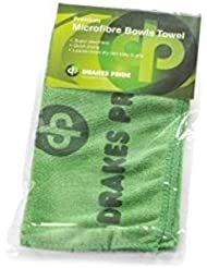 DRAKES PRIDE GREEN MICROFIBRE BOWLS TOWEL##B6305**