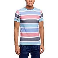 oodji Ultra Uomo T-Shirt a Righe